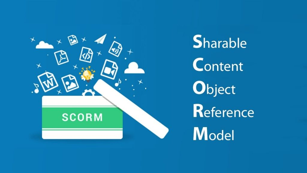 E-learning scorm viết đầy đủ là Electronic Learning Sharable Content Object Reference Model