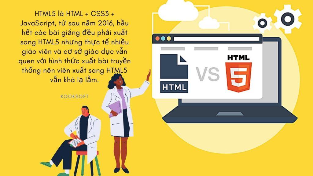 HTML5 là HTML + CSS3 + JavaScript