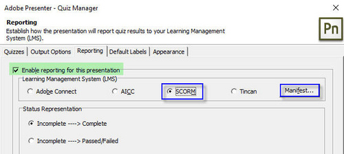 Tạo bài giảng scorm với phần mềm Adobe Presenter